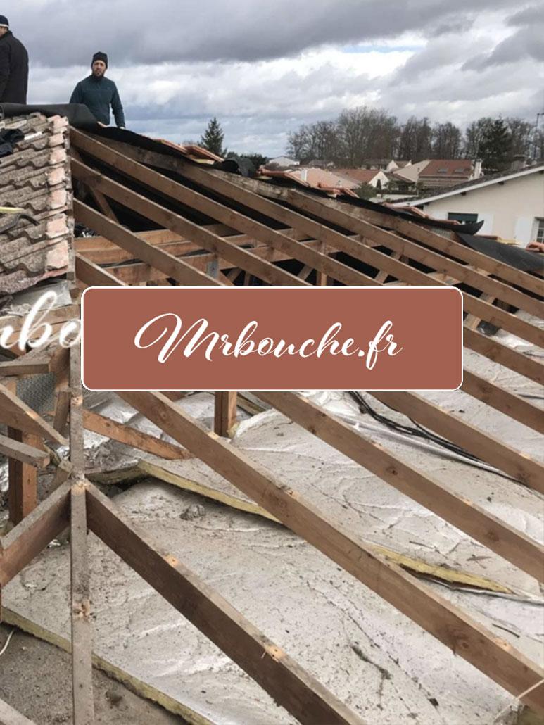 chantier couvreur Mérignac 33700